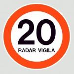 Cartel Radar Vigila
